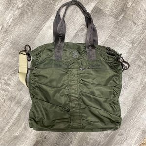 Lululemon Fast N Flight Bag Tote Olive Green